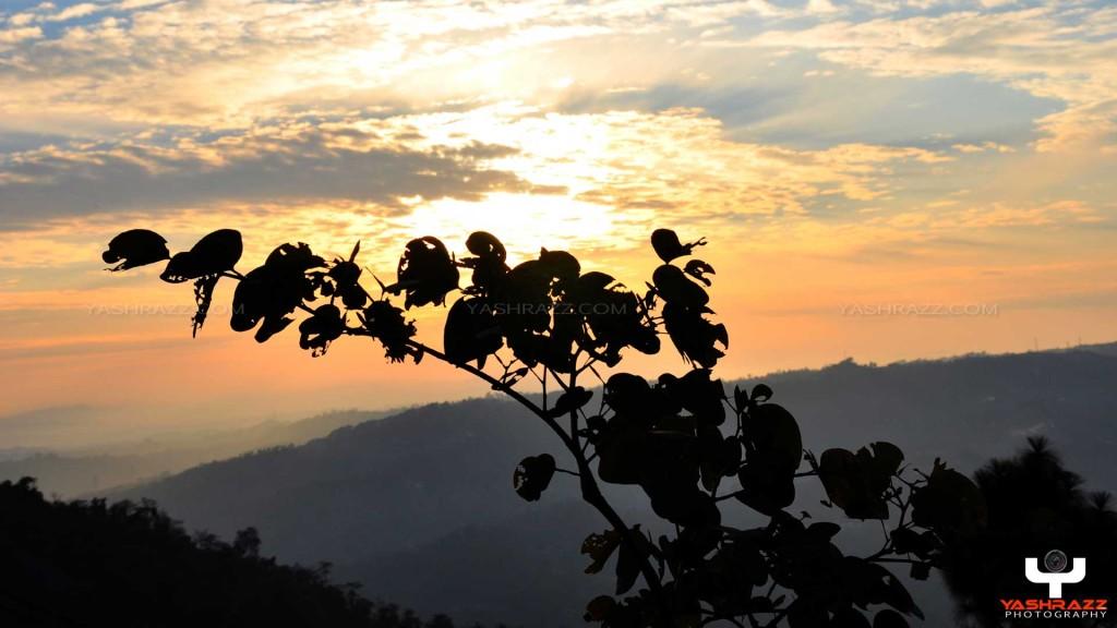 Sunset @ Sarkaghat - Mandi HP